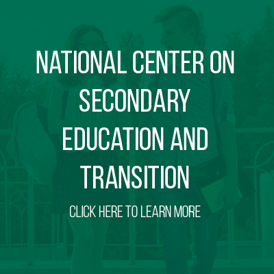 National Center on Secondary Education and Transition